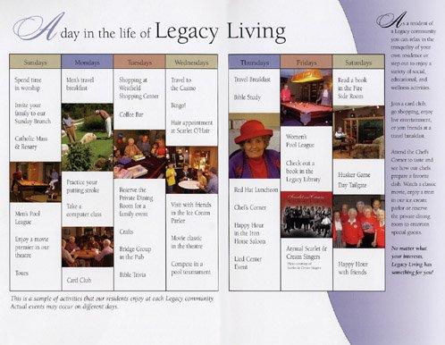 Legacy Retirement Communities The Legacy Legacy Terrace
